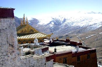 monastery in Ganden