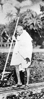 Gandhi pole