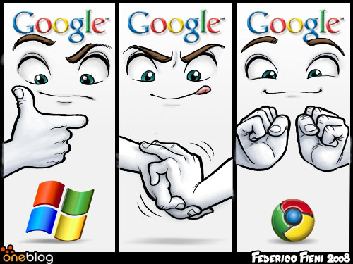 chrome cartoon