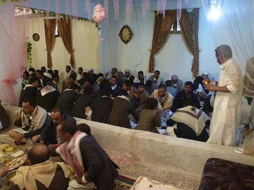Yemeni feast