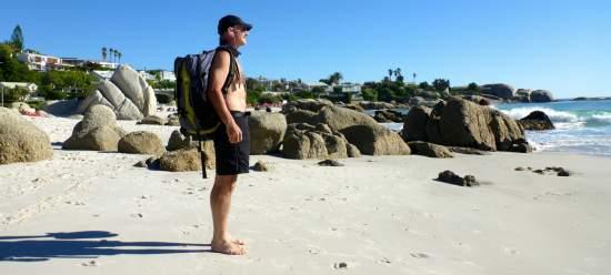 Rick Cape Town beach