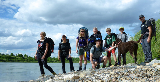 WCT hikers