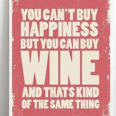 wine happiness