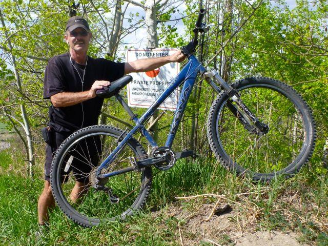 Rick cycling