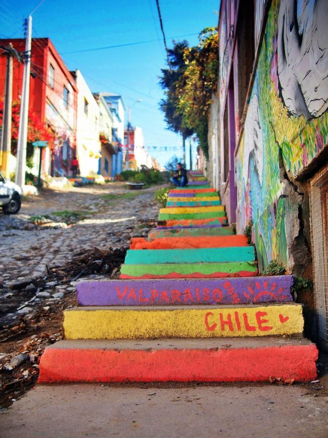Valpo stairs