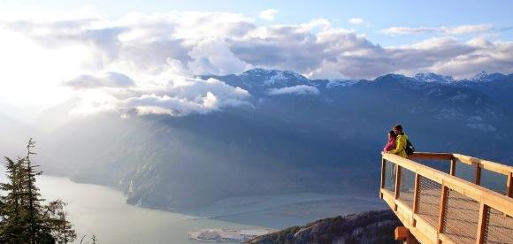 Squamish viewing platform