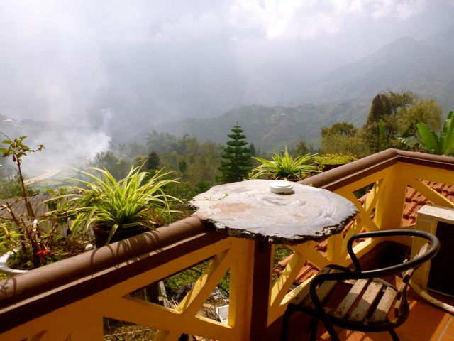 Sapa Unique balcony