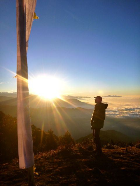 Rick farewell Nepal