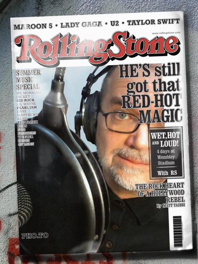 Ron Rolling Stone