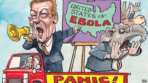 Ebola alarmists