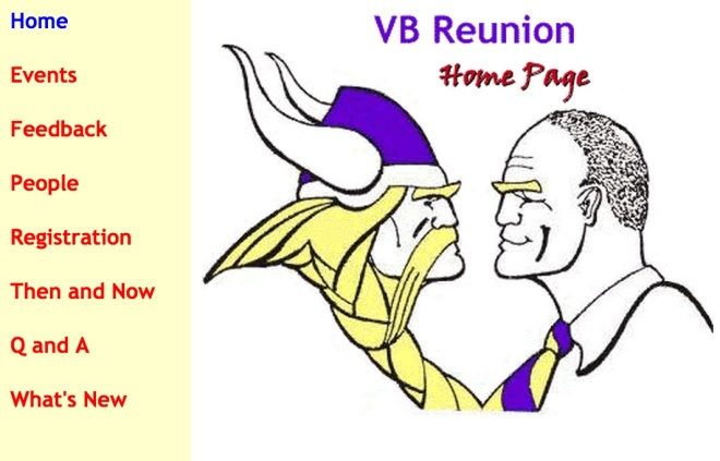 VB Reunion website