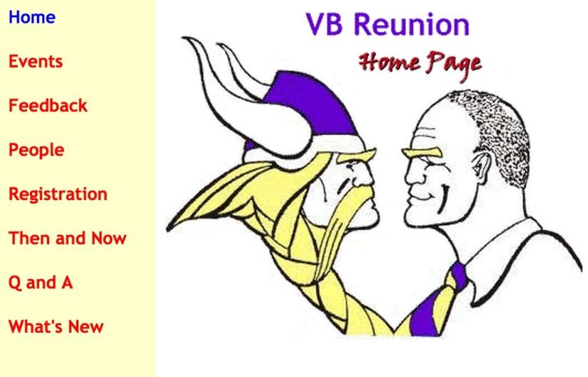 VB Reunion website