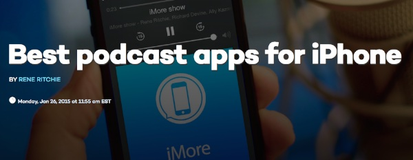 best iPhone podcast apps