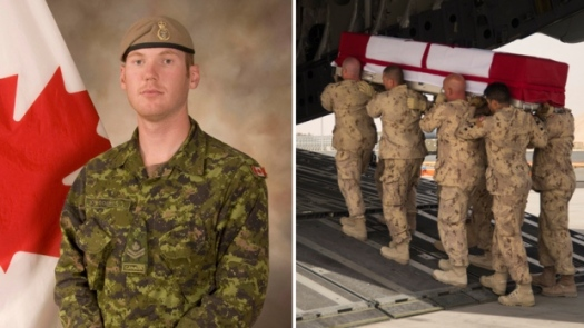 Sergeant Andrew Joseph Doiron was killed by friendly fire in Iraq