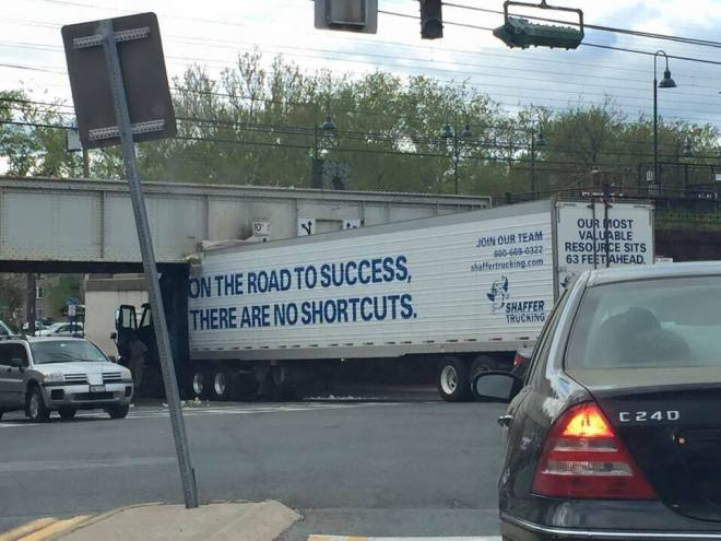 road to success truck