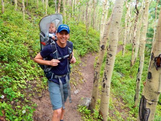 Julius hiking