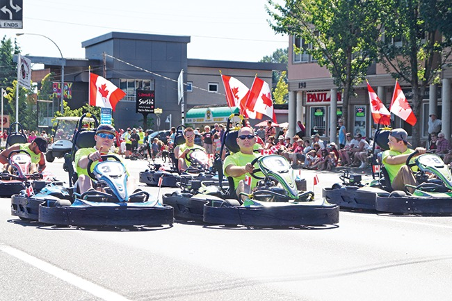 Parksville parade