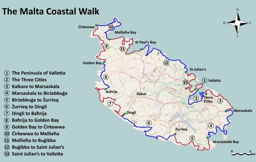 Malta Coast Walk