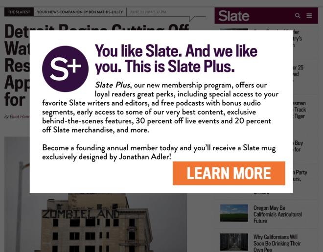 Slate sucks