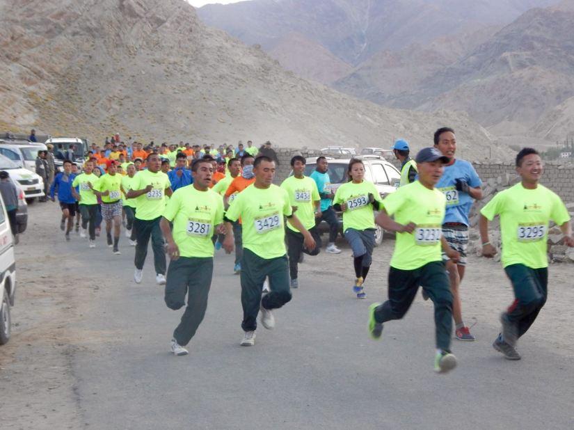 Ladakh Marathon 6