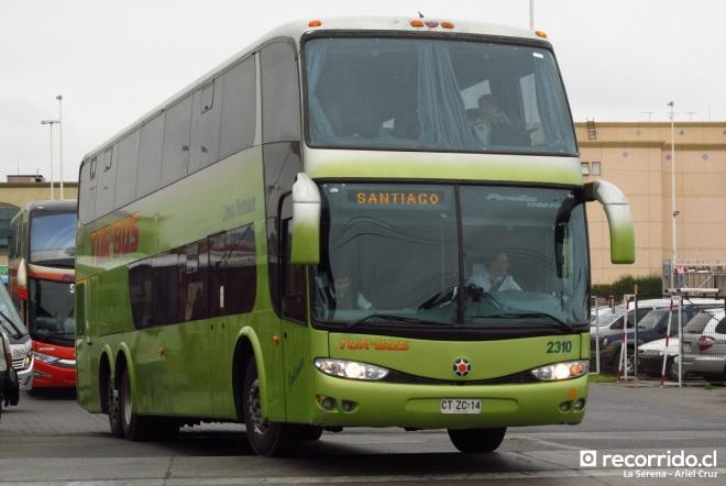 ctzc14 - 2310 - tur bus - cama premium - la serena