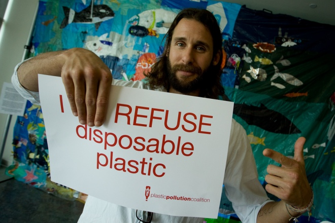 refuse disposable plastic