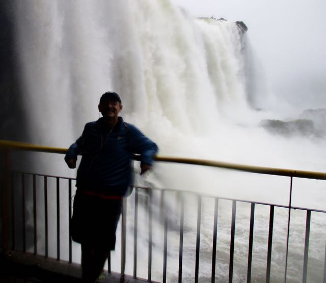 Rick at Iguazu