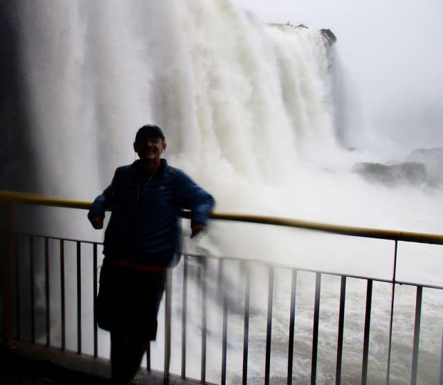 Rick at Iguazu