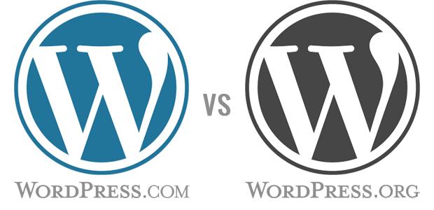 I'm recommending WordPress.com, not WordPress.org