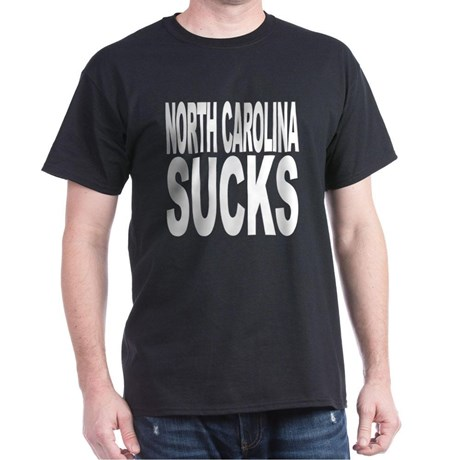 north_carolina_sucks_dark_tshirt