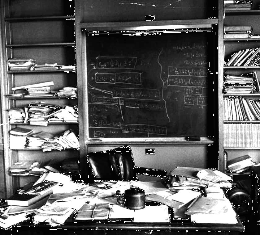 Einstein S Desk On The Day He Died Rickmccharles Com